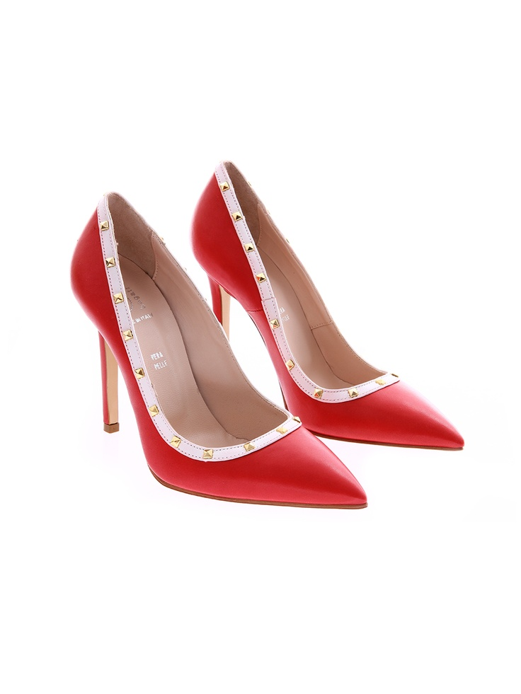 Pantofi roșu/alb pentru dame Bagatt de la Shopamor.ro