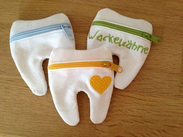 Zahntäschchen - Zahnfeehelfer ITH Stickdatei 10x10