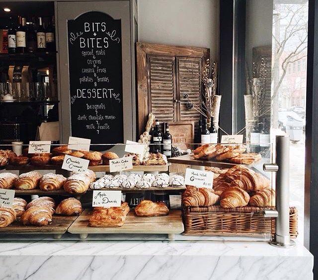 Best 10 bakery display ideas on pinterest bakery shop for Coffee shop display ideas