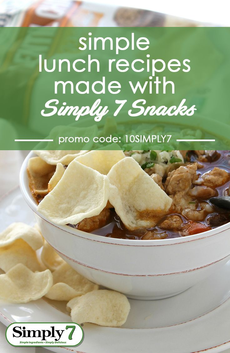 Simple and delicious recipes for every day made with chips that are better-for-you. Use promo code 10SIMPLY7 and get 10% off when you shop on Amazon!