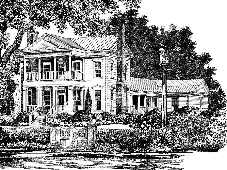 1000 images about dream homes on pinterest craftsman for Southern plantation house plans