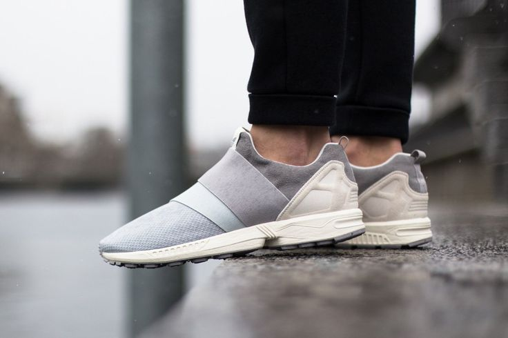 """1d6e6f022 ... REVIEW   ON FOOT adidas ZX Flux Slip-On """"Grey"""""""