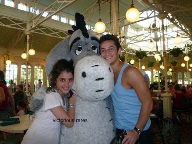 Ariana Grande and Frankie Grande