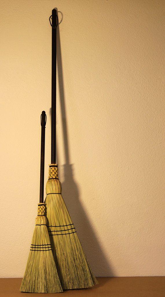 MotherChild Broom Set  Woven Corn Brooms for by SkagitBroomWorks, $70.00