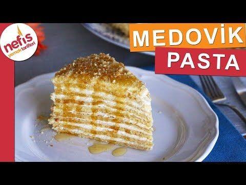 Meşhur MEDOVİK PASTASI - Ballı Rus Pastası - YouTube
