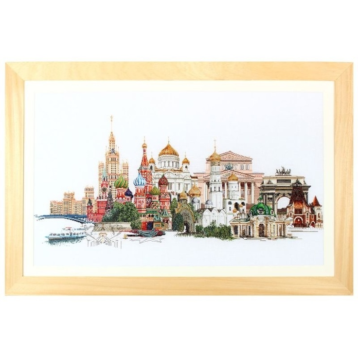 Moskou Borduren - Thea Gouverneur - Borduurpakket