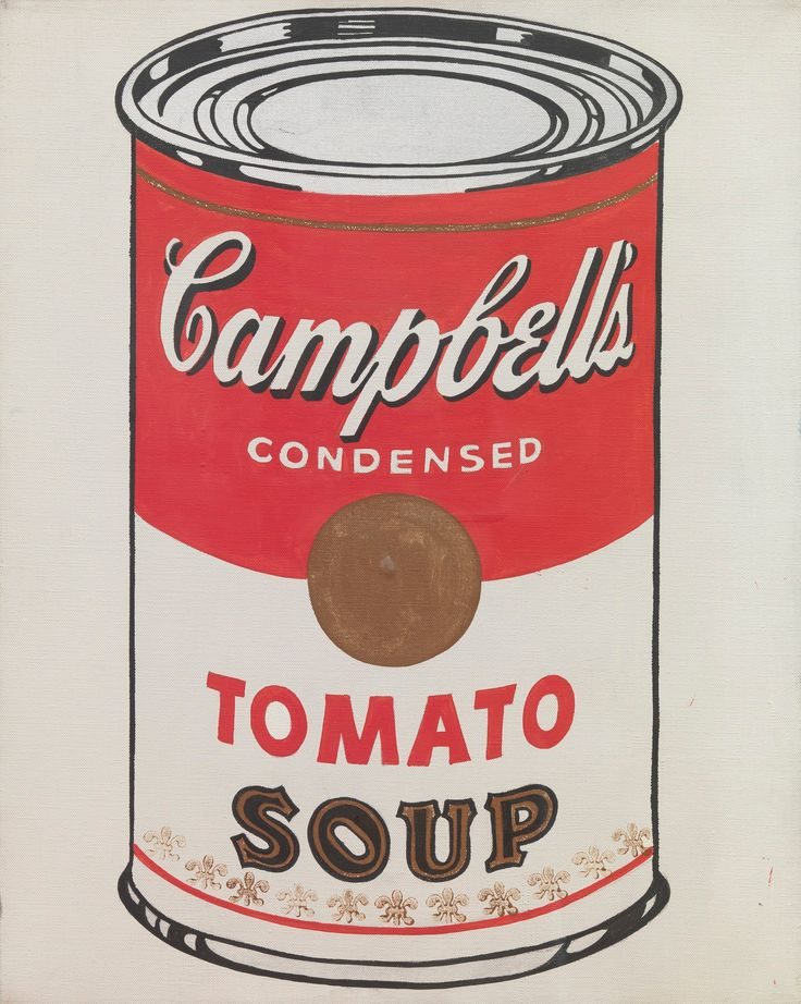 """Andy Warhol, """"Campbell's Soup Can"""", 1978"""