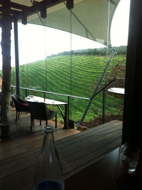 Restaurant and Winery.  Gorgeous views of Idas Valley.  'Wine For Art' paintings.