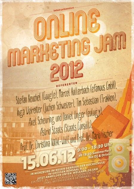 Online Marketing Jam 2012 - Hochschule für angewandte Wissenschaften, Würzburg, iwinet, eCommerce