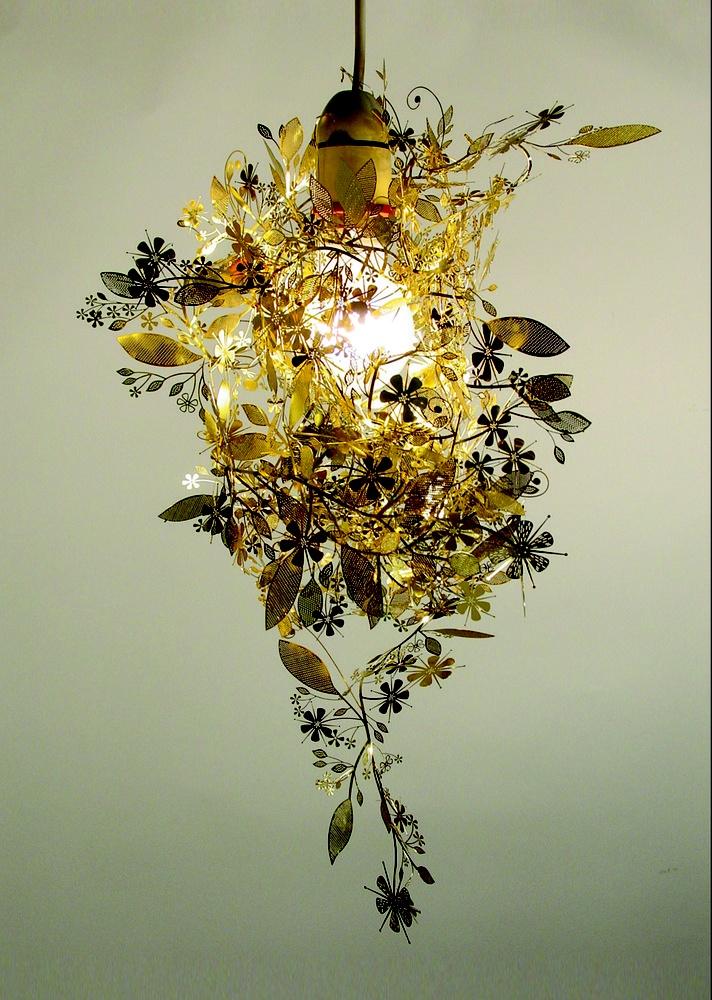 Brass Garland Light