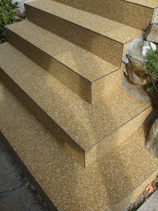 Turbo Steinteppich Treppe, Außentreppe Kosten - Steinteppich in Ihrer TT68