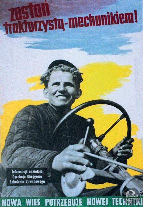 Traktorzysta-mechanik – W dobie powszechnej mechanizacji zajęcie to znaczyło wiele!