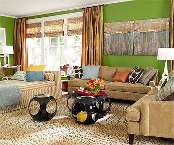 1 Living Room, 4 Color Schemes Part 49