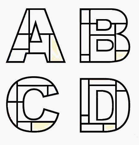 Els nostres moments a l'aula d'infantil: Piet Mondrian abecedario descargable.                                                                                                                                                                                 Más