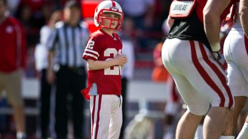 'What a Moment!' Watch 7-Year-Old Cancer Patient Jack Hoffman Score a Touchdown at Nebraska Football Game --video (1:19)
