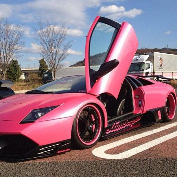 1000+ ideas about Hot Pink Cars on Pinterest  Pink Cars, Pink Car Seat Covers and Cars.