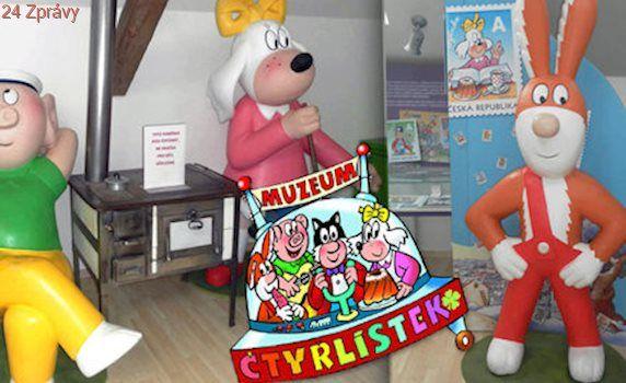 Kam s ratolestmi na Den dětí? Navštivte jedinečné Muzeum Čtyřlístek v Doksech!