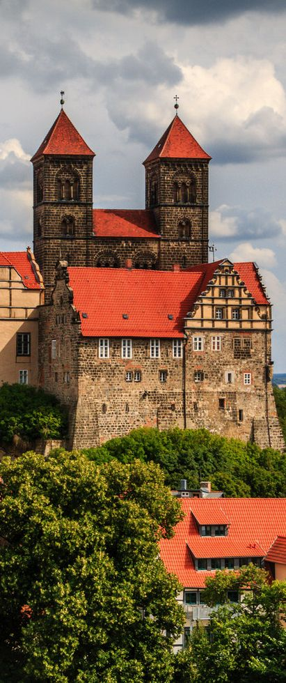 Old town of Quedlinburg, Germany