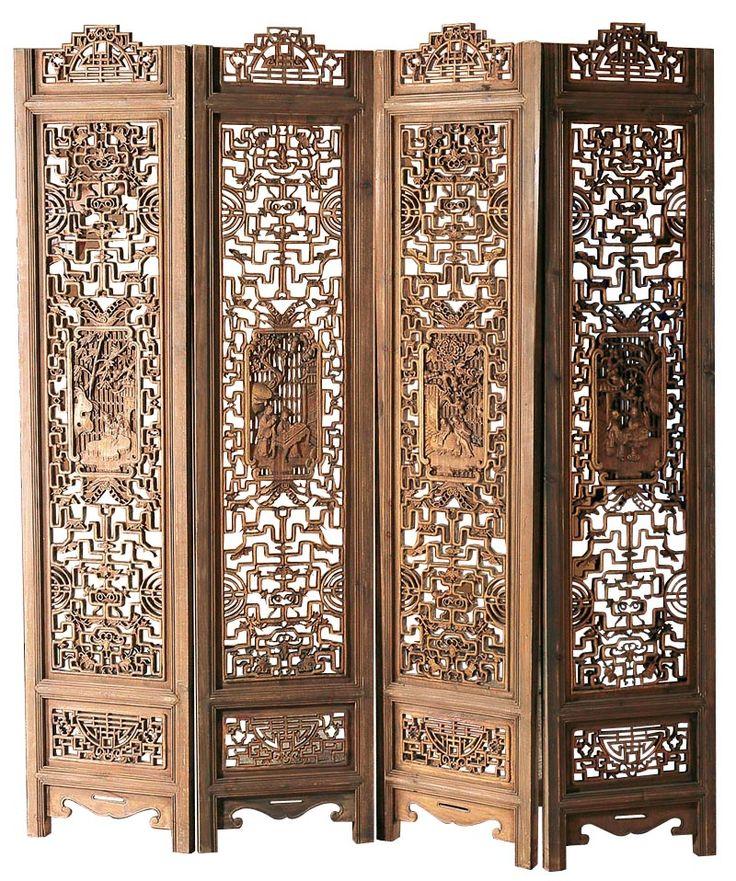 Wood Room Dividers Filigree