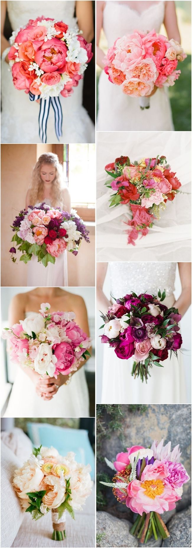 25 swoon worthy spring amp summer wedding bouquets tulle amp chantilly - The Second Bouquet Though