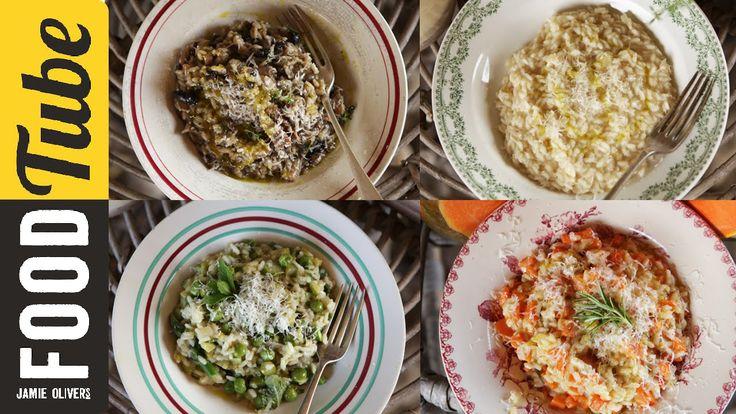 How To Make Perfect Risotto 4 ways | Gennaro Contaldo