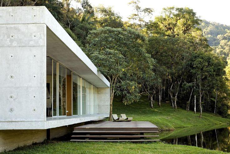 libeskind llovet arquitetos / residence são luís do paraitinga, são paulo