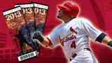 Yadier Molina and the St Louis Cardinals