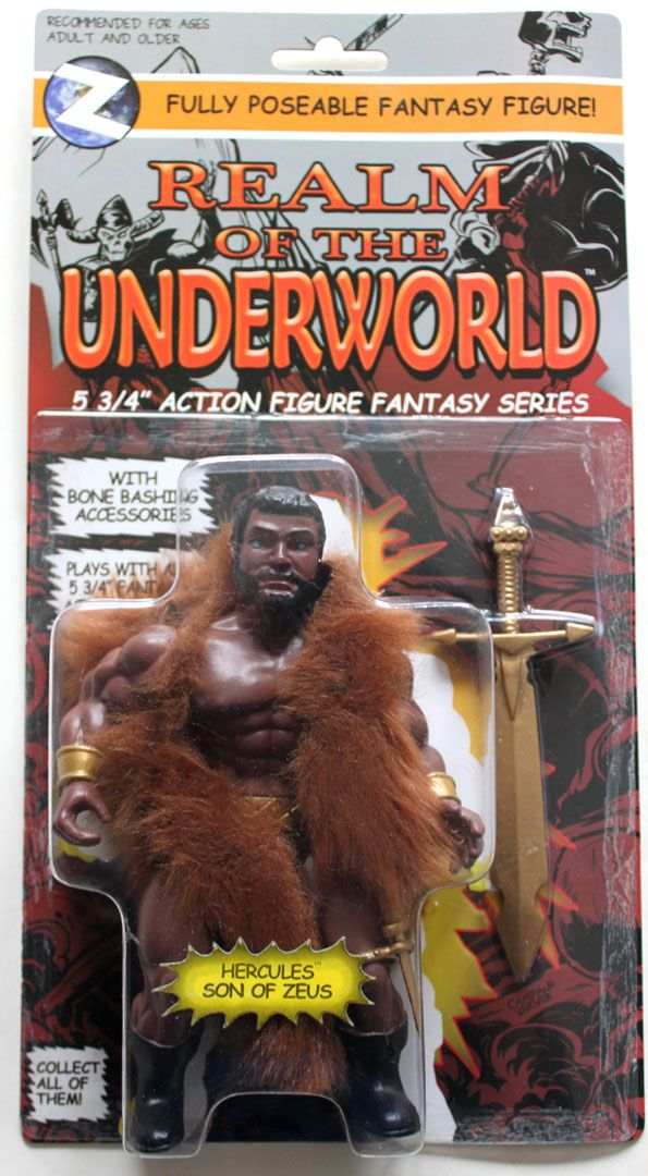 HERCULES action figure MOC