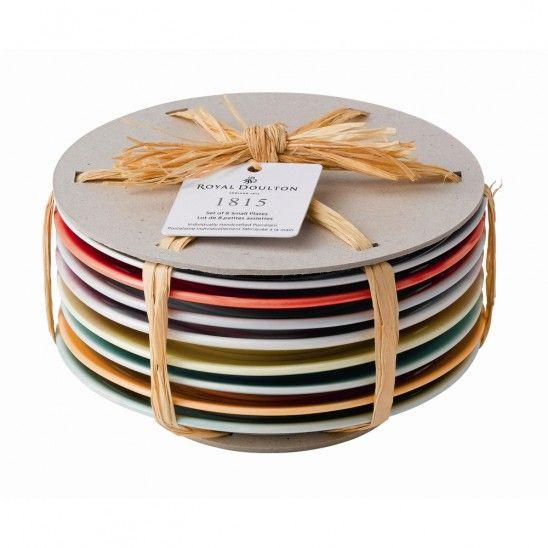 Royal Doulton 1815 Tapas Plate Set