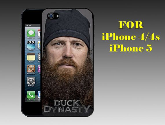 Jase Robertson  Print on Hard Cover iPhone 5 by PrincessCustomShop, $15.99