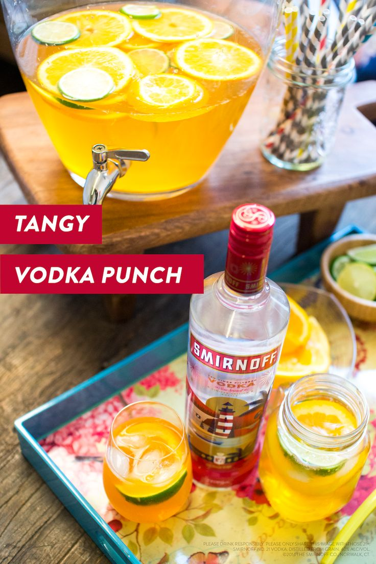 how to make simple punch with vodka