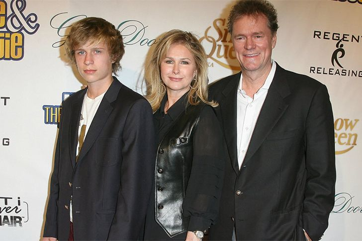 Conrad Hilton with his parents.