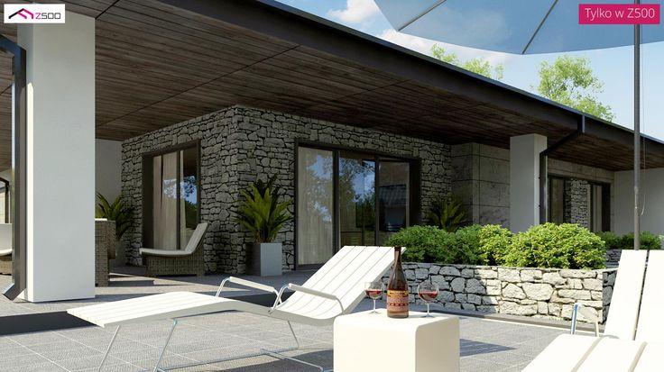 Z279 to wyjątkowy dom z kategorii projekty domów jednorodzinnych
