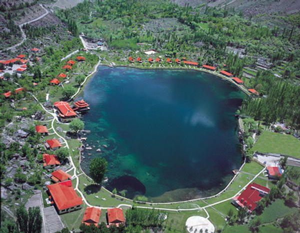 Shangrila Lake Skardu  Pakistan
