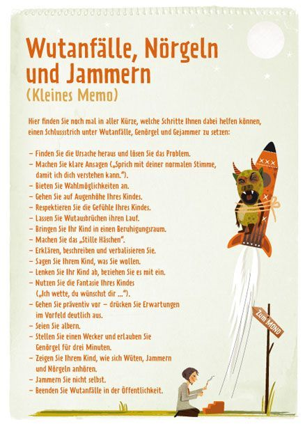 Merkzettel Erziehung, TRIAS Verlag. ©Daniela Sonntag, Stuttgart