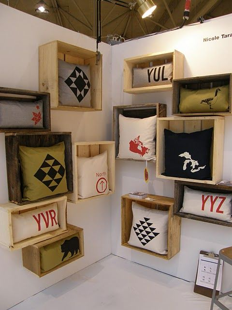 #pillows in #crates