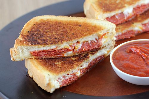 Pizza Grilled Cheese.