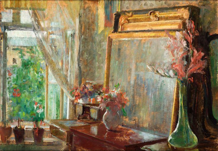 Interior by Olga Boznańska, 1906 (PD-art/70), Muzeum Narodowe w Krakowie (MNK)