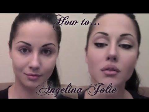 ▶ Angelina Jolie Makeup Tutorial - YouTube