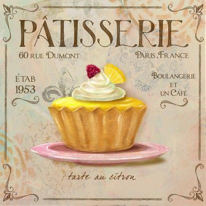 Patisserie  - Fiona Stokes-Gilbert | Crie seu quadro com essa imagem  https://www.onthewall.com.br/patisserie-2 #quadro #canvas #moldura