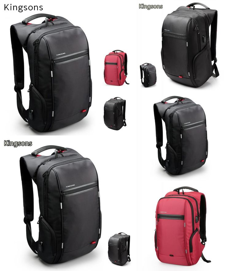 """[Visit to Buy] 2017 Kingsons Brand Backpack For Laptop 15"""",15.6"""",Notebook 13"""",14"""",15.4"""" Compute Bag,Business,Office Worker,Free Drop Shipping #Advertisement"""
