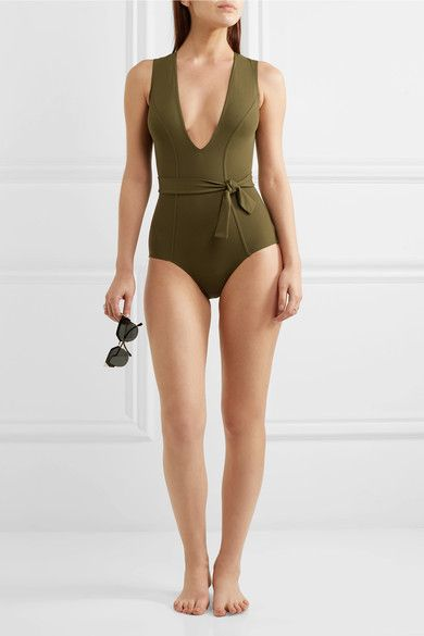 Eres - Magic Swimsuit - Army green - FR42