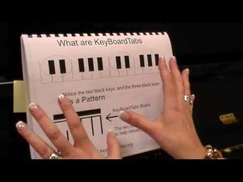 Keyboard Tabs Hallelujah