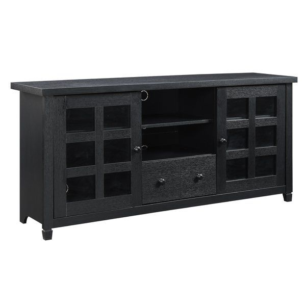 Shepparton Tv Stand For Tvs Up To 65 Black Tv Stand 60 Tv