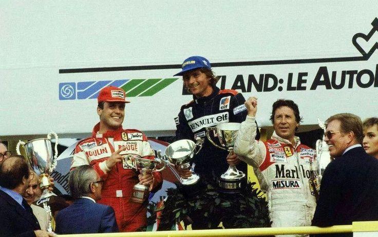 Картинки по запросу monza 1982 podium
