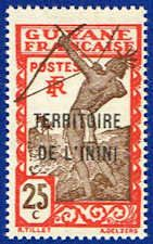 Inini 9 Stamp - Stamp of French Guinea Overprinted - SA IN 9-1 MNH GZ