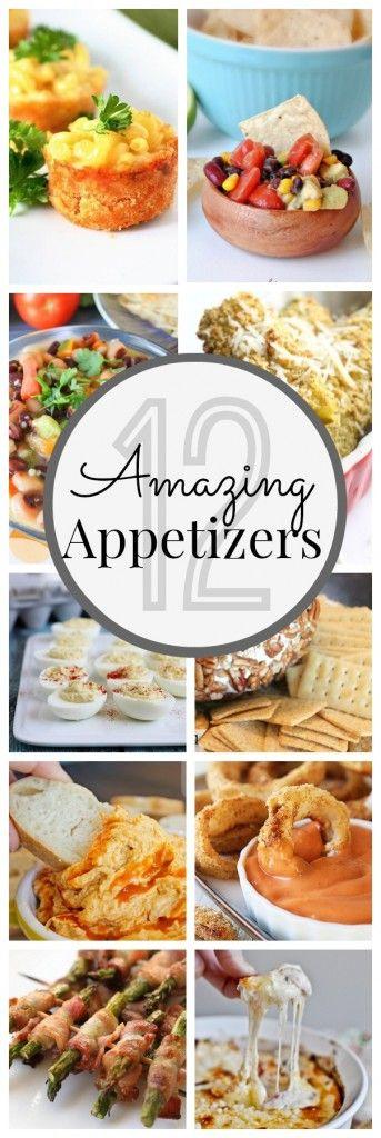 12 Awesome Appetizers - www.classyclutter.net