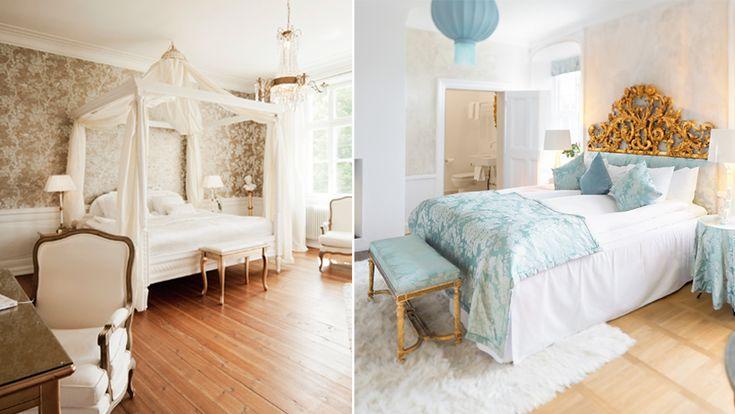 5 slottshotell som är perfekta för en romantisk weekend