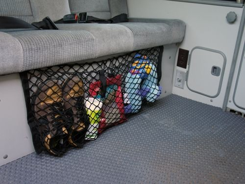 Bench Seat Cargo Net | GoWesty