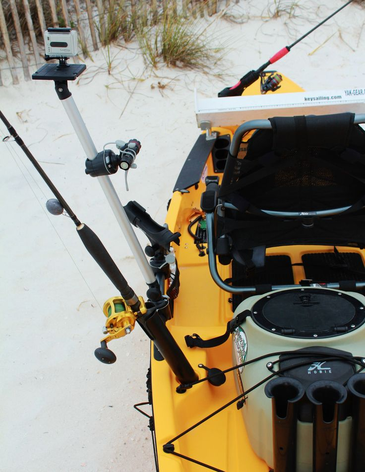 25 best ideas about hobie pro angler on pinterest for Kayak accessories for fishing